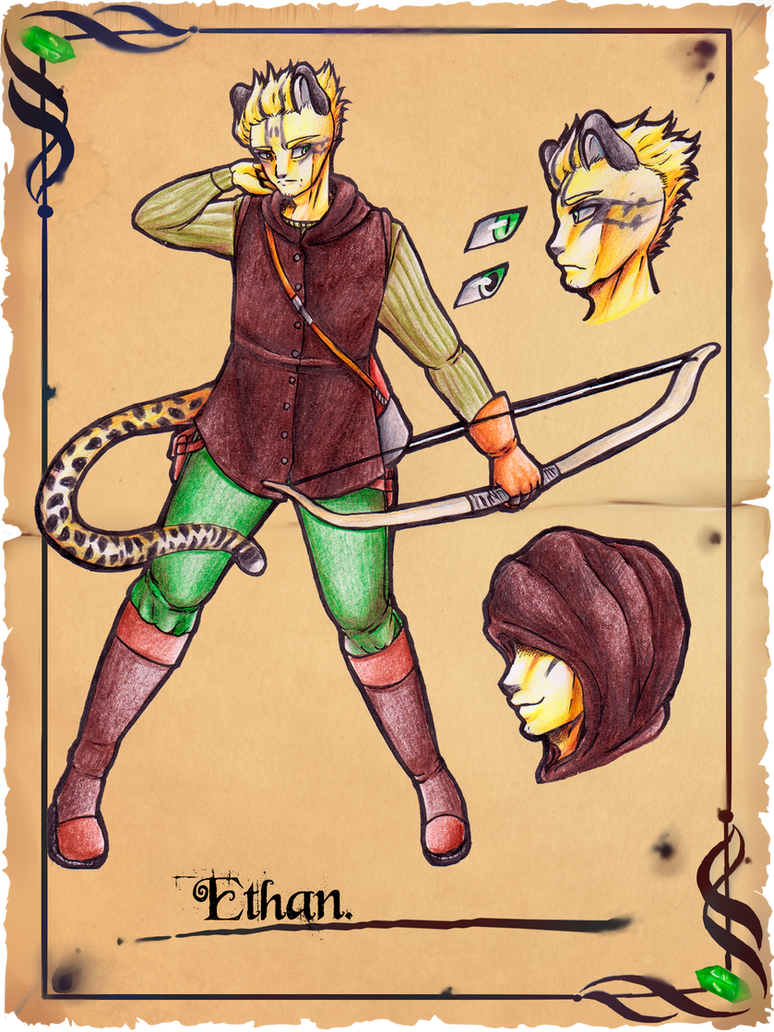 +Gilbarath+ Ethan by Ayukaba