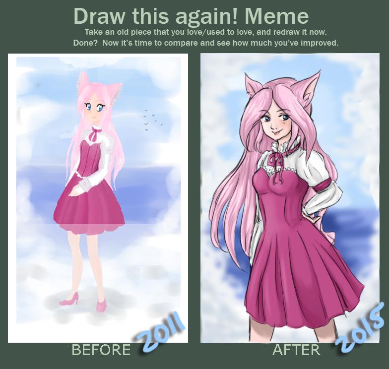 Draw this again! Ayukaba's Meme by Ayukaba