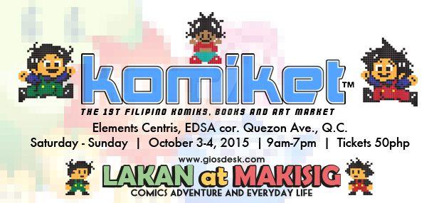 Filipino Komiks and Art Market 2015 by giosdesk