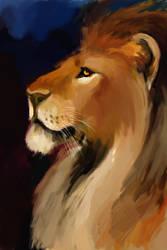 Lion by AgataWeegmann