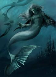 Mermaid by AgataWeegmann