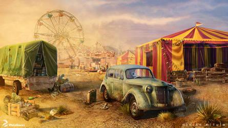 carnival- circus by karo-cat