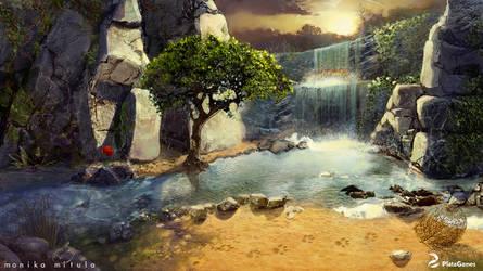 carnival - waterfall by karo-cat