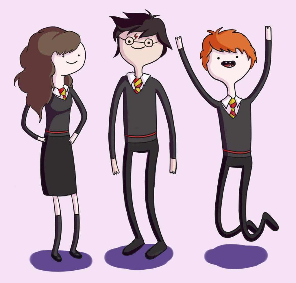 Harry Potter Adventure Time Style By Ravenclawinatardis On