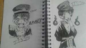 Tsukasa doodles