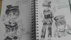 hanoko kun doodles part 2