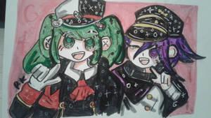 Monaca and Kokichi