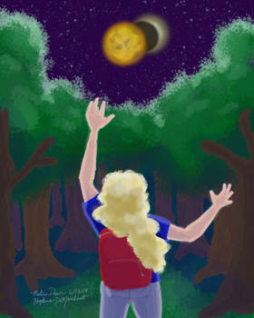 Speed Painting: Reach for the Moons