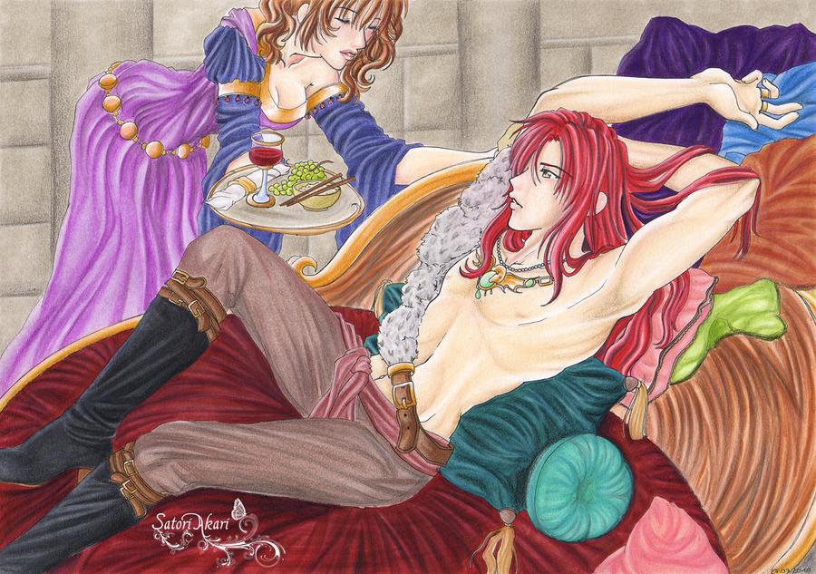 Serving his royal majesty by SatoriAkari