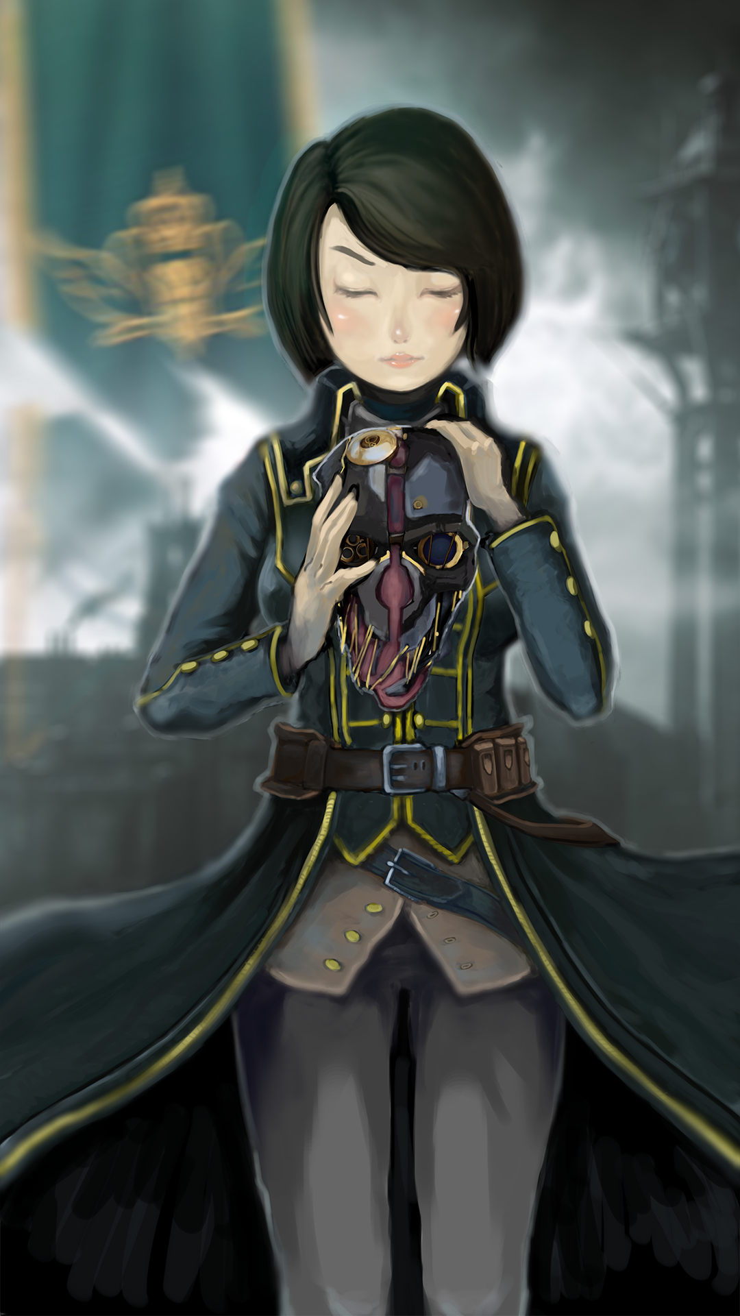 Dishonored: Lady Emily by rosa89n20