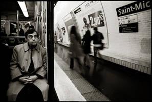 Paris Metro, October 2005. by espadana