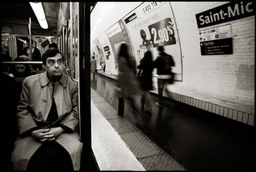 Paris Metro, October 2005. by espadana