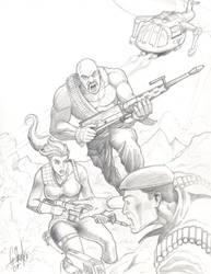 G.I. Joe: cover number 56 by grantshorterart