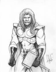 THOR sketch by grantshorterart