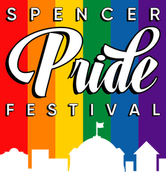 Spencer Pride Festival Logo