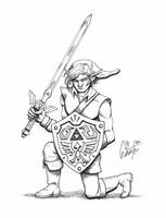 Link Pen and Ink