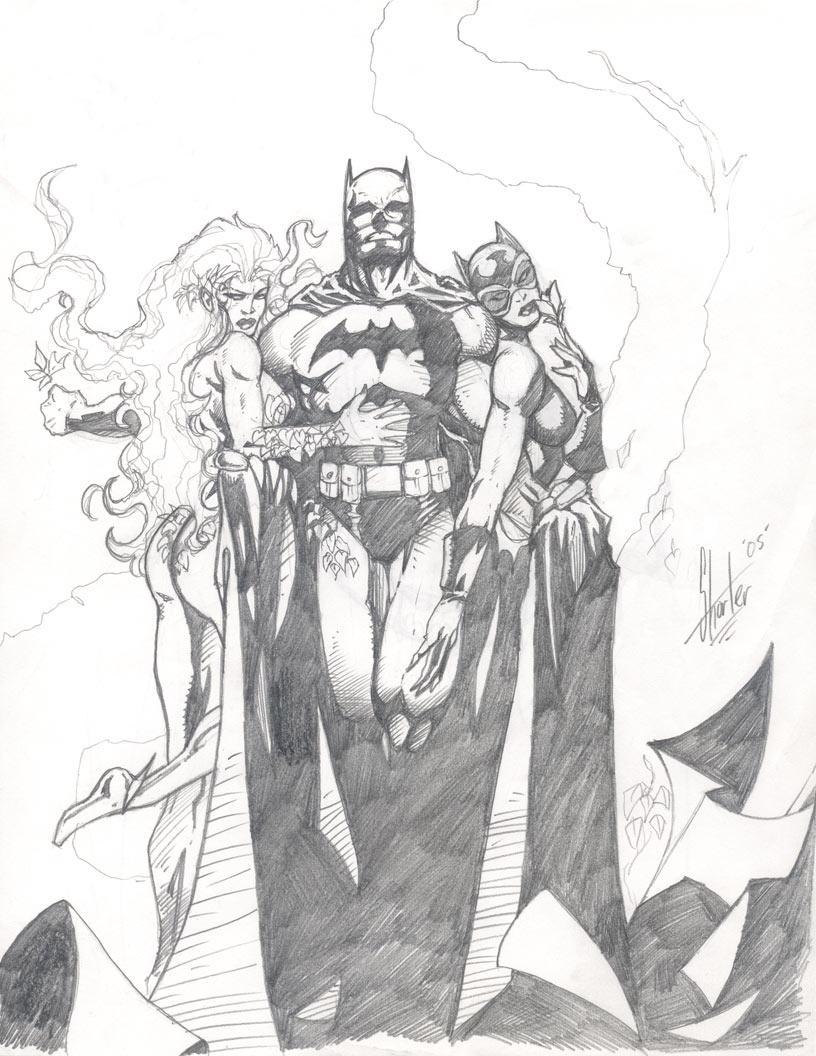 Batman Hush Jim Lee Tribute By Grantshorterart On DeviantArt