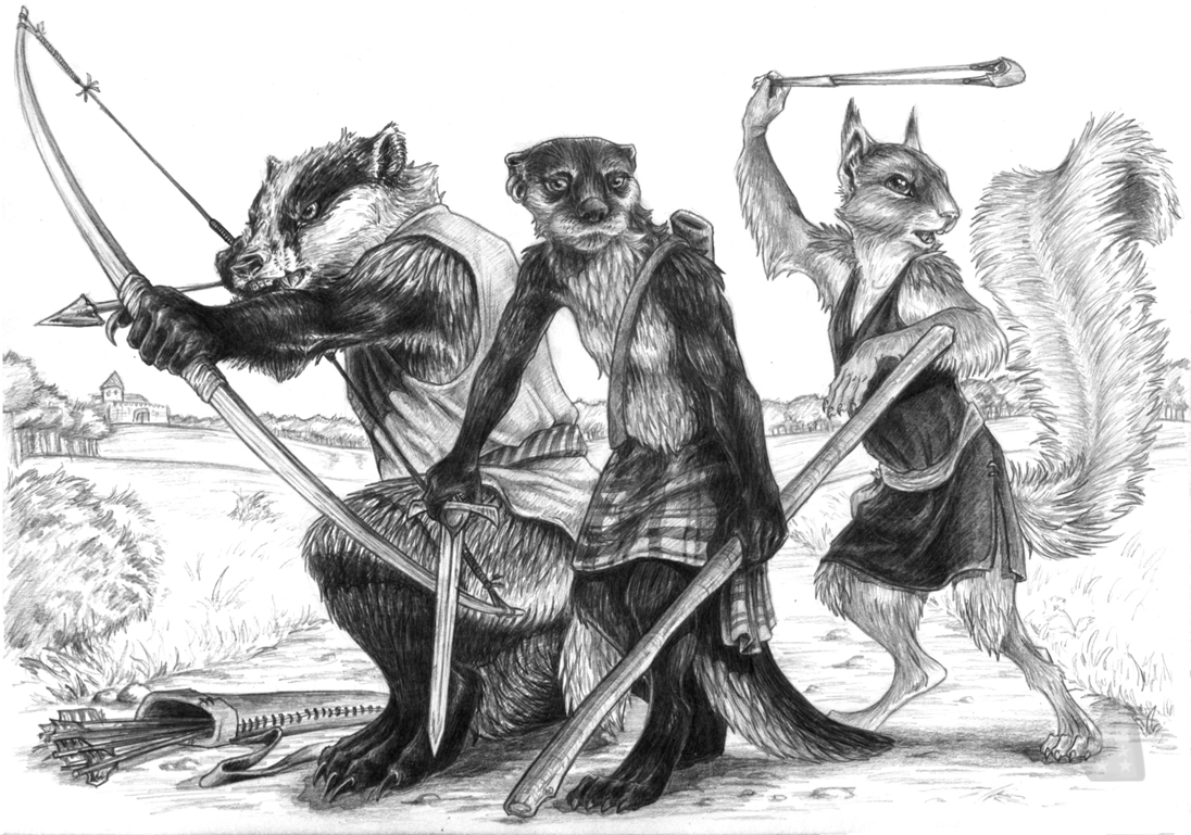 Warriors of Loamhedge by AdmYrrek