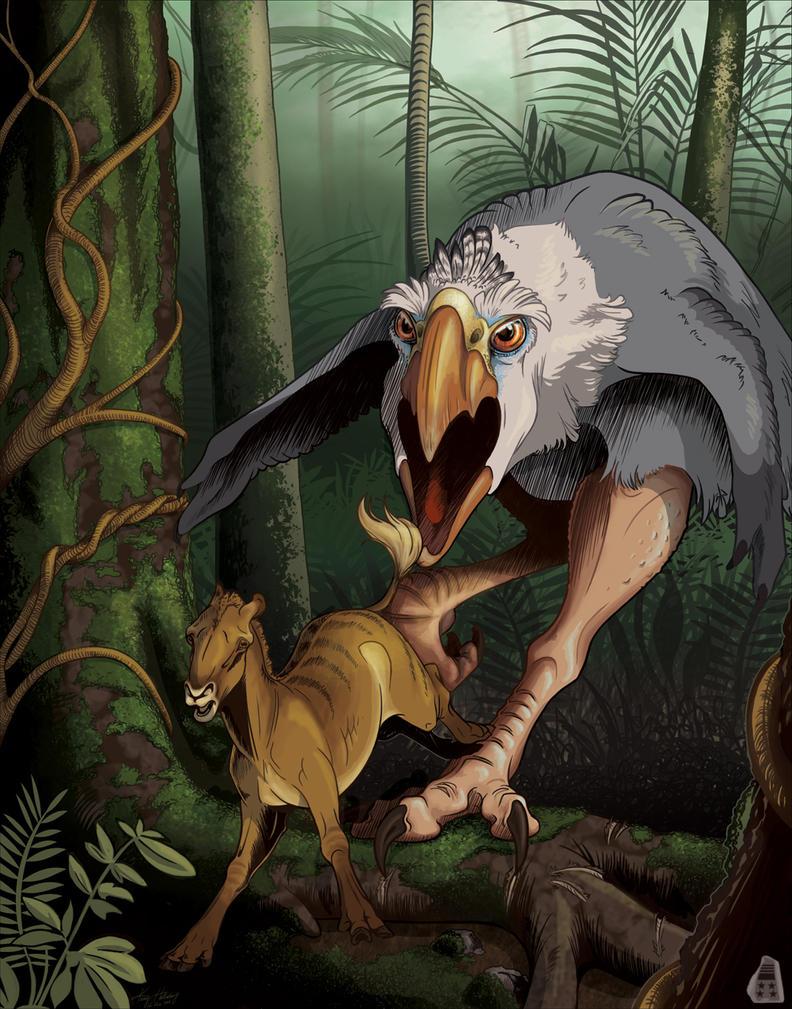 Terrorbird Poster (commission) by AdmYrrek