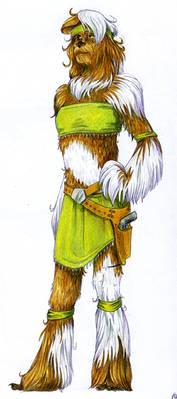 Wookiee Color Sketch