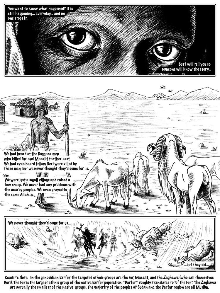 persuasive essay darfur genocide