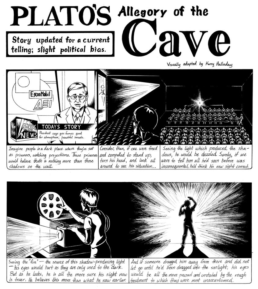 allegory of the cave pg by admyrrek on allegory of the cave pg1 by admyrrek
