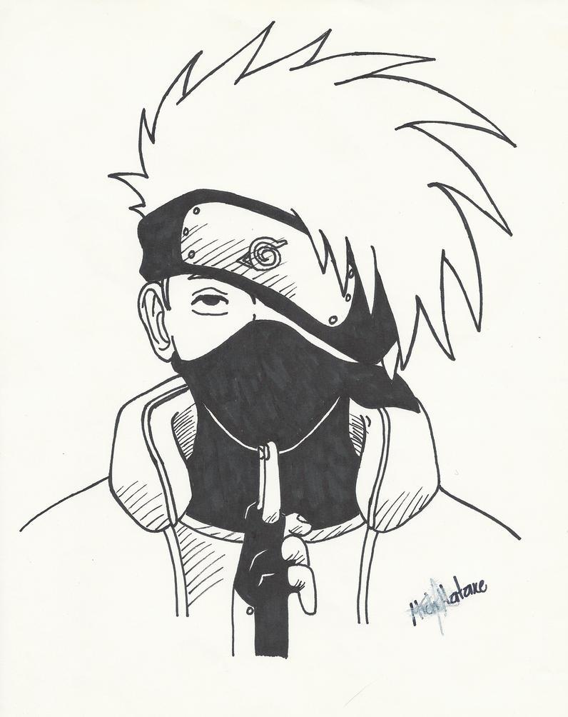 Kakashi Hatake Black by MichHatake on DeviantArt