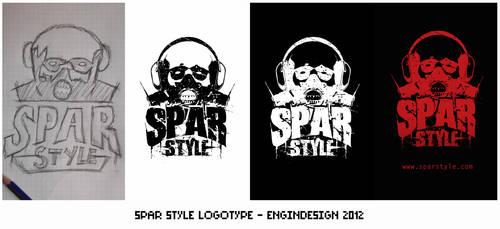 Spar Style Logotype by engin-design