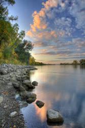 Riverbank by MarshallLipp