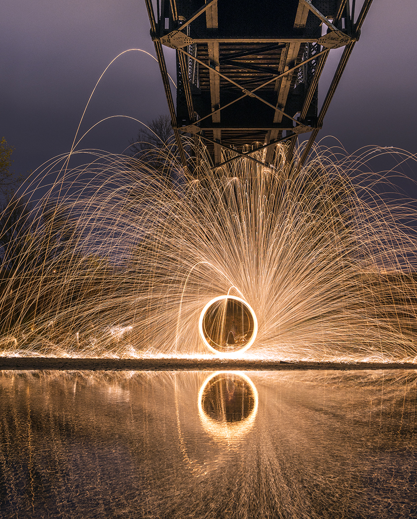 Under the Trolly Bridge by MarshallLipp