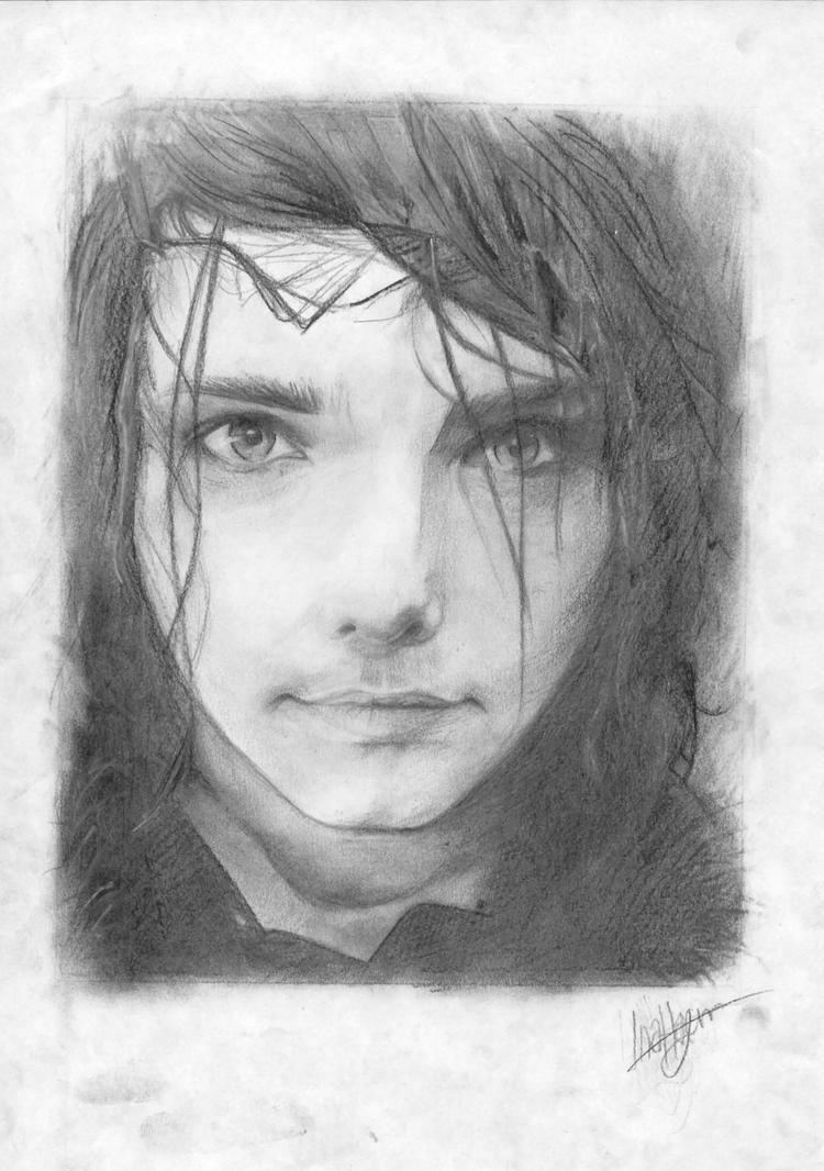 Gerard Way by imaginaryghost