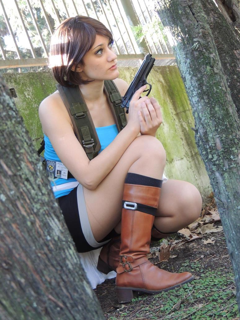 Jill Valentine - Resident Evil: Nemesis V by elltonidas