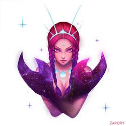 Crab Nebula by Zarory