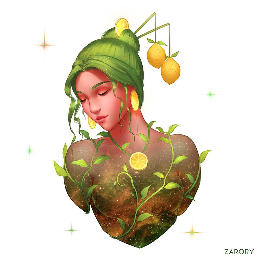 Lemon Slice Nebula by Zarory