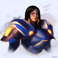 Pharah by Zarory
