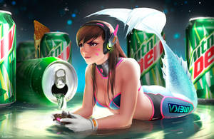 Mountain Dew - D.Va by Zarory