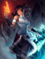 Avatar Korra by Zarory