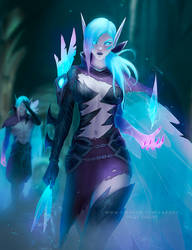 Death Sworn Xayah by Zarory