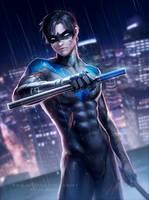 Nightwing by Zarory
