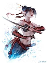 Ninja Mermaid