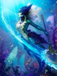Nami, the Tidecaller by Zarory