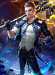 Battle Academia Jayce by Zarory