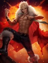 Fantasy Bakugou by Zarory