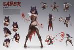 Saber Character Sheet