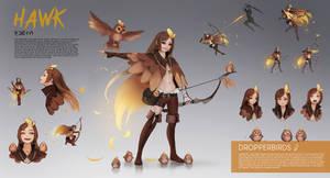 Hawk Character Sheet