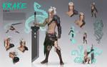 Krake Character Sheet