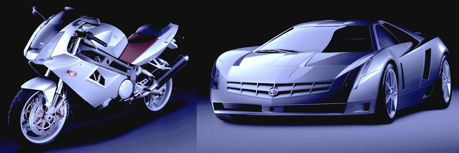 Futuristic car and bike by PAGANI-F1 on DeviantArt