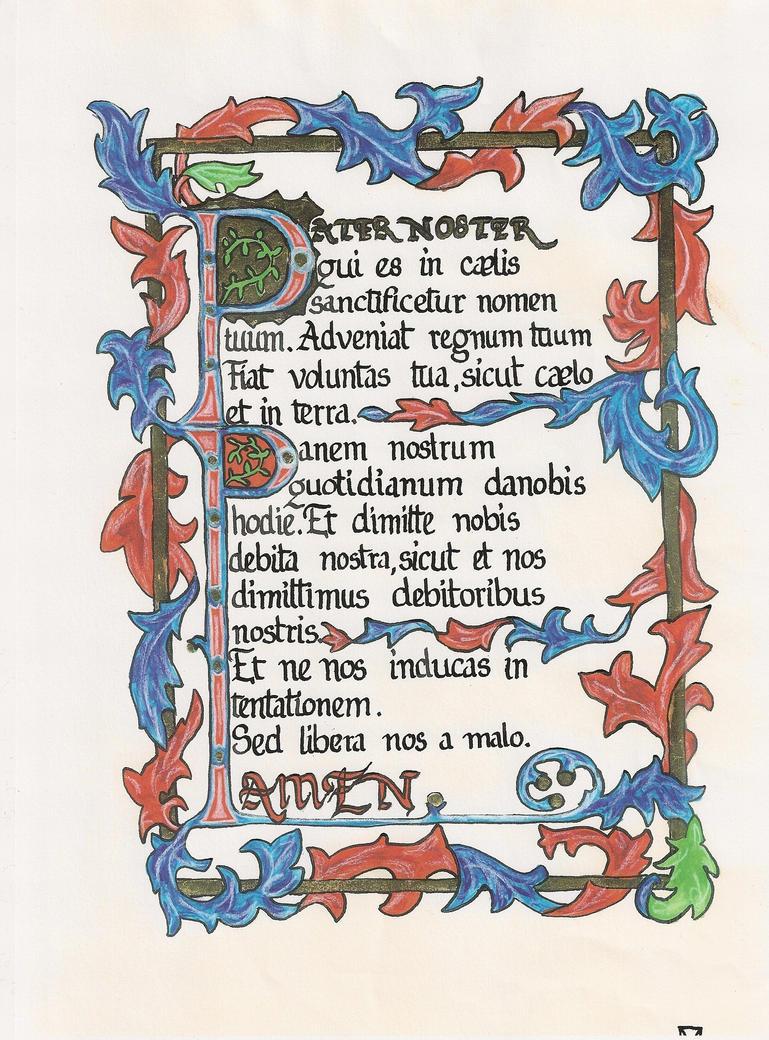pater noster by ellichen on deviantART