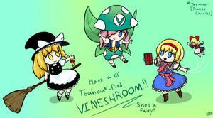 Vinesauce: Touhou Vineshroom