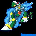 Mega Man 30th Anniversary Collab: Mega Water S